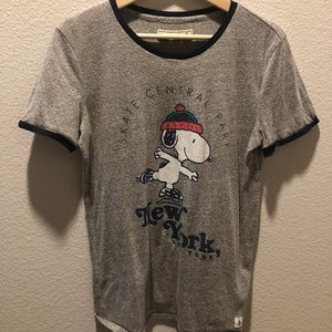 Abercombie & Fitch Ski Snoopy Shirt